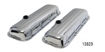 Pro Form Big Block Chevy Stamped Steel Valve Covers, Chrome, Short w/ Baffle