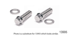 ARP Chevy Stainless Intake Manifold Bolts, Hex Head, 396-454 BB