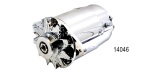 Powermaster 1955-1957 Chevy PowerGen Alternator, 90 Amp, Short, Polished