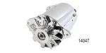 Powermaster 1955-1957 Chevy PowerGen Alternator, 90 Amp, Short, Chrome