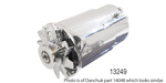 Powermaster 1955-1957 Chevy PowerGen Alternator, 90 Amp, Long, Chrome