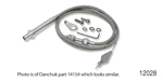 Lokar Chevy Hi-Tech Kickdown Cable, TH-200-4R, Stainless Steel Housing