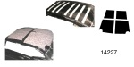 Acoustishield 1955-1957 Chevy Roof Insulation Kit, Hardtop & Sedan