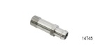Performance Stainless Steel Chevy Stainless Heater Hose Fitting, Hex, 3/4'' ID x 1-3/4'', 1/2 NPT