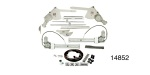 1955-1957 Chevy Power Window Conversion Kit, 4-Windows, 2-Door Convertible