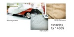 California Car Cover 1955-1956 Chevy All Weather ''Multiweave 2'' Car Cover, Tan, Nomad and Wagon