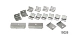 1955-1957 Chevy Side Window Stainless Clip Kit, Nomad & Safari