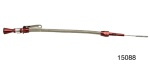 Lokar Anchor-Tight® Chevy Locking Engine Dipstick, Red, Small Block, All LS Series 1997 and Later