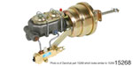 1955-1957 Chevy Power Brake Conversion Kit, Disc/Disc, 7'' Dual Diaphram w/ Proportioning Valve