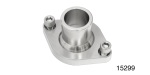 Performance Stainless Steel Chevy Stainless Thermostat Housing, Straight Up, Stainless