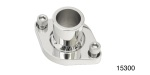 Performance Stainless Steel Chevy Stainless Thermostat Housing, Straight Up, Polished