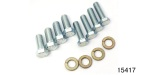 1955-1957 Chevy OE Transmission Mount to Bell Housing Bolt Kit, Manual Transmission