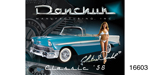 Danchuk 1956 Chevy Autographed Poster