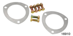 Proform Chevy Malleable Aluminum Collector Gasket Kit, 3''