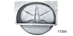 1955-1957 Chevy Complete Spare Tire Well, Nomad, Wagon & Sedan Delivery (OS)