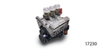 Edelbrock Chevy Performer 8.5:1 350 Engine, 310hp/375 Torque, Cast Finish w/ Triple 94 Carbs