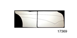 Stitchcraft Interiors 1955-1957 Chevy Custom Interior Door Panel Kit, 4-Door, Design 5