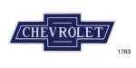 Chevrolet Bow Tie Decal, 7''