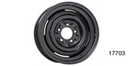 1957 Chevy ''OE'' Style Disc Brake Wheel, 14 x 7, Black