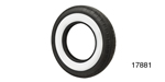 Coker Tire 1955-1956 Chevy American Classic Radial Tire, 670R15, 2-3/4'' Whitewall (OS)