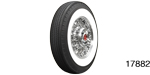 Coker Tire 1957 Chevy American Classic Radial Tire, 750R14, 2-1/4'' Whitewall (OS)