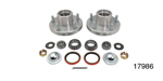 1955-1964 Chevy Front Roller Bearing Conversion Kit, Forged Aluminum