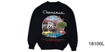 Danchuk 2015 ''Route 66'' Crewneck Sweatshirt, Black, Large