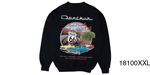 Danchuk 2015 ''Route 66'' Crewneck Sweatshirt, Black, XXL