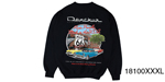 Danchuk 2015 ''Route 66'' Crewneck Sweatshirt, Black, XXXL