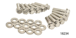 ARP Chevy Stainless Header Bolt Kit For 3/8'' Wide Header Flange, Hex Head, LS Series Engines