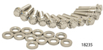 ARP Chevy Stainless Header Bolt Kit For 3/8'' Wide Header Flange, 12-Point Head, LS Series Engines