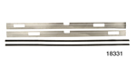 1955-1957 Chevy Nomad Front Door Anti-Rattle Trim Fur Strips, Pair