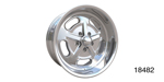American Legend Chevy ''Racer'' Wheel, Polished, 18 x 7