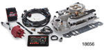 Edelbrock Chevy Pro-Flo 3 EFI System w/ Tablet, Satin, 550HP, 86-Up Small Block w/ Standard Heads