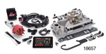Edelbrock Chevy Pro-Flo 3 EFI System w/ Tablet, Satin, 625HP, 86-Up Small Block w/ Standard Heads