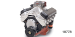Edelbrock/Musi Chevy RPM 555 10.0:1 Engine, 676hp/649 Torque w/ AVS Carburetor