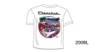 Danchuk 2008 ''Beach Scene'' Tee Shirt, Large