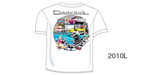 Danchuk 2010 ''Garage Scene'' Tee Shirt, Large