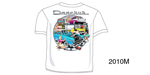 Danchuk 2010 ''Garage Scene'' Tee Shirt, Medium