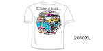 Danchuk 2010 ''Garage Scene'' Tee Shirt, XL
