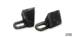 1956-1957 Chevy 4-Door Hardtop Roof Rail Stop, Pair