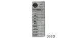 1955-1957 Chevy Dealer Aluminum Service Record Tag