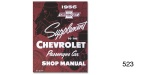 1956 Chevy Shop Manual Supplement To The 1955 Manual