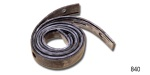 Danchuk 1955-1957 Chevy Flipper Weatherstrip Seals, 2-Door Hardtop