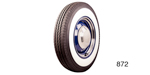 1955-1956 Chevy B.F. Goodrich Silvertown Whitewall Radial Tire, 205/75R15 (OS)