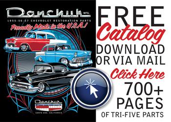 Danchuk 2019 1955-1956-1957 Classic Chevy Catalog 36
