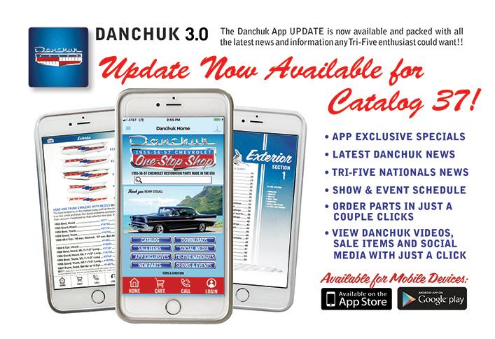 Danchuk App Landing Page